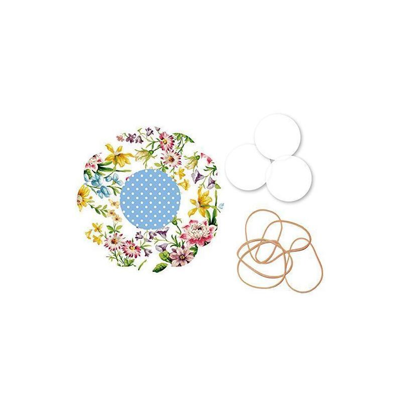 Kit para mermeladas Flores Katie Alice
