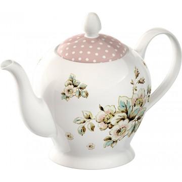 Tetera de cerámica Flores Cottage Katie Alice