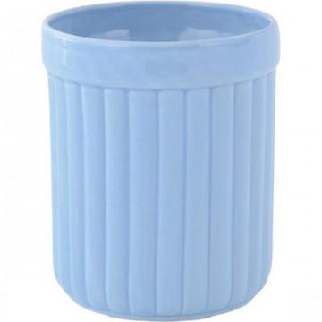 Tiesto de cerámica para utensilios Azul Katie Alice