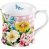 Tazón con asa Flores rosa English Garden Katie Alice