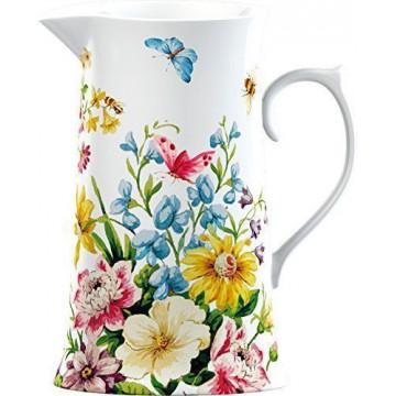 Lechera cerámica grande Flores Garden Katie Alice