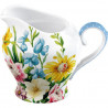 Lechera cerámica pequeña Flores Garden Katie Alice