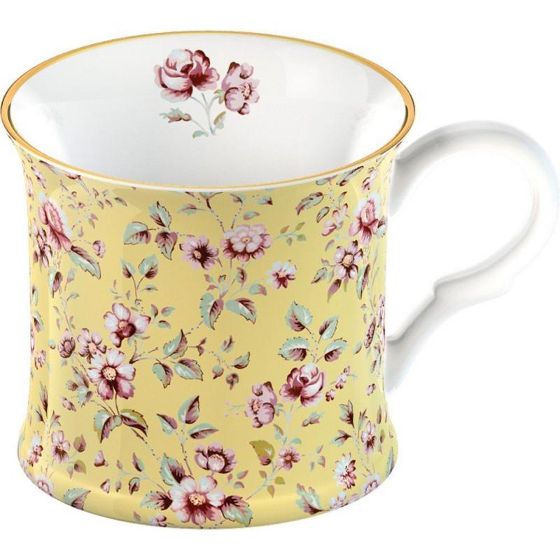 Tazón con asa Amarilla Ditsy Floral Katie Alice