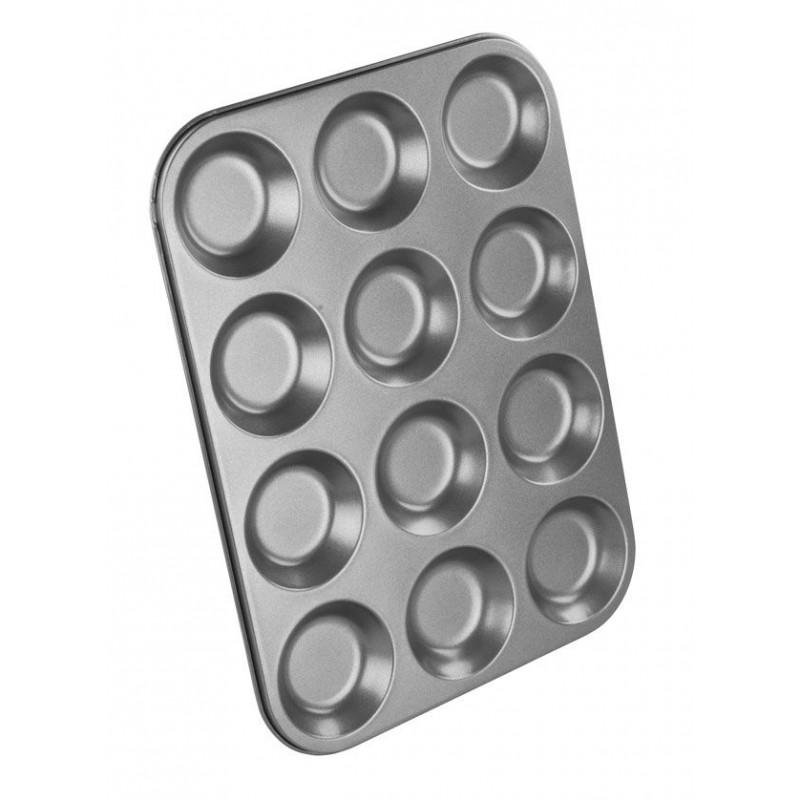 Molde tartaletas 12 cavidades Chef Aid