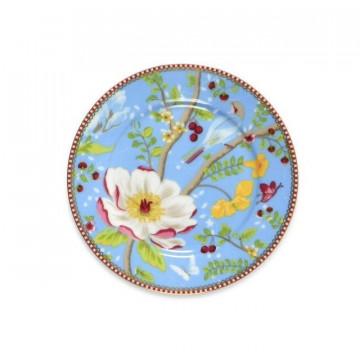 Plato de cerámica de postre 17 cm Chinese Garden Azul PIP Studio