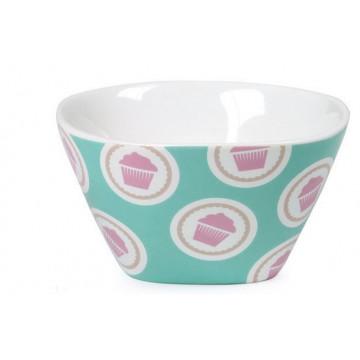 Bol de cerámica Turquesa Cupcake Lily´s Cupcakes