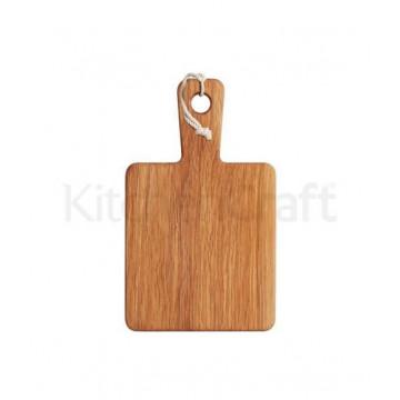 Tabla de corte de madera rectangular 20 x 12 cm Kitchen Craft