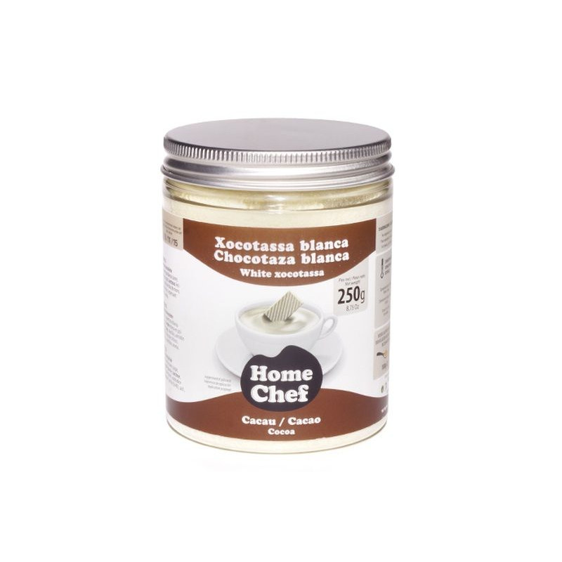 Chocolate blanco en polvo 250gr Home Chef