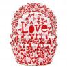 """Cápsulas cupcakes corazones y """"Love"""" HoM"""