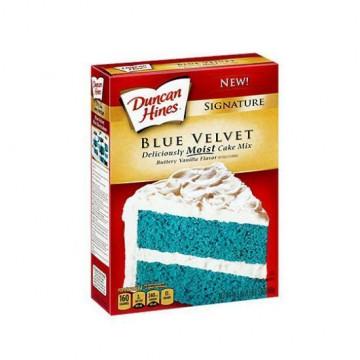 Preparado para bizcocho Blue Velvet Duncan Hines