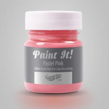 Pintura comestible Rosa Pastel 25gr Rainbow Dust