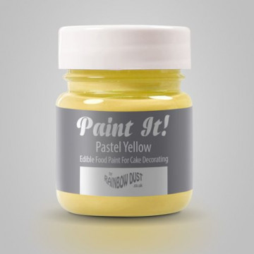 Pintura comestible Amarillo Pastel 25gr Rainbow Dust
