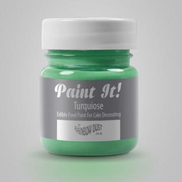 Pintura comestible Verde Turquesa 25gr Rainbow Dust