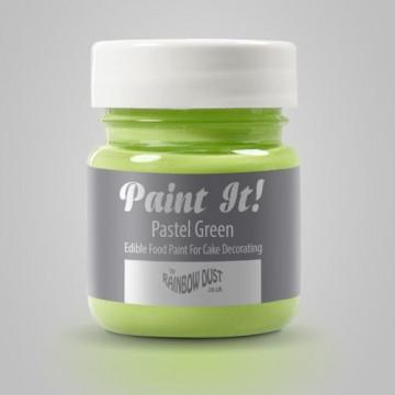 Pintura comestible Verde Pastel 25gr Rainbow Dust