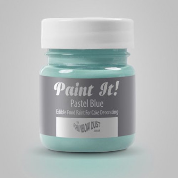 Pintura comestible Azul Pastel 25gr Rainbow Dust