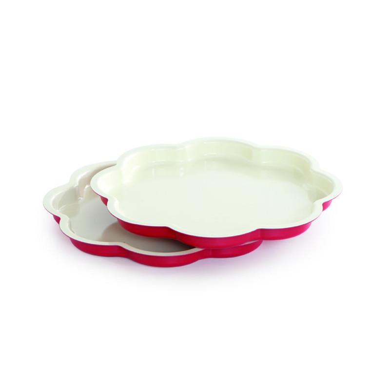 Pack 2 moldes Layer Cake Flor Celebration Nordic Ware