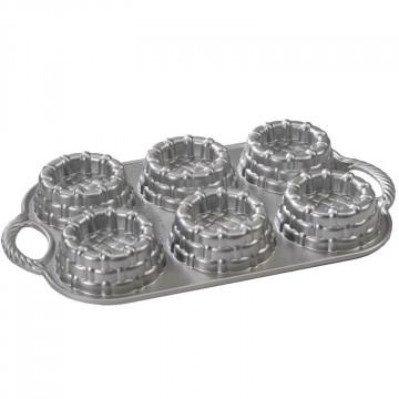 Molde 6 cavidades Shortcake Baskets Nordic Ware