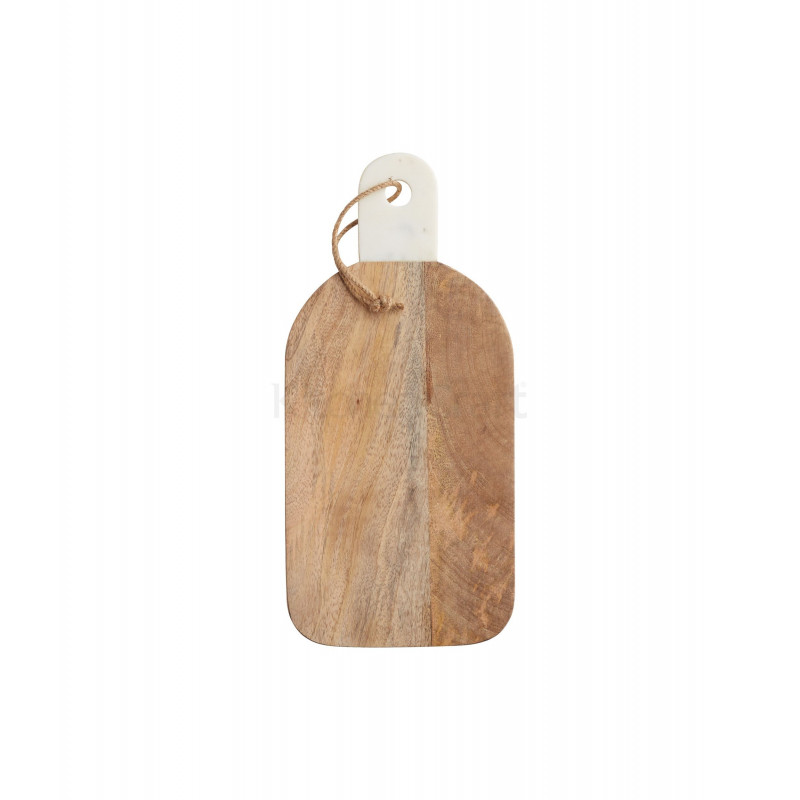 Tabla de corte de madera rectangular marmol 35 x 16 cm Kitchen Craft