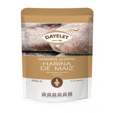 Harina fina de maiz 400gr Dayelet