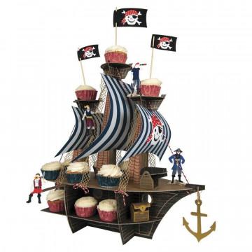 Stand de presentación Barco Pirata
