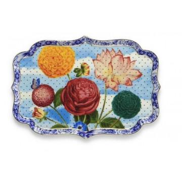 Bandeja de cerámica rectangular Royal Pip Studio