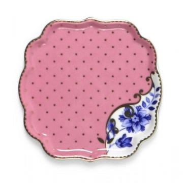 Bandeja de cerámica cuadrada Royal Pip Studio
