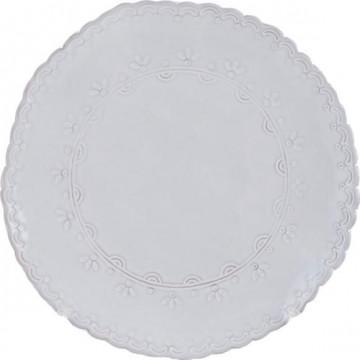 Fuente de cerámica 20.5 cm Encaje Katie Alice