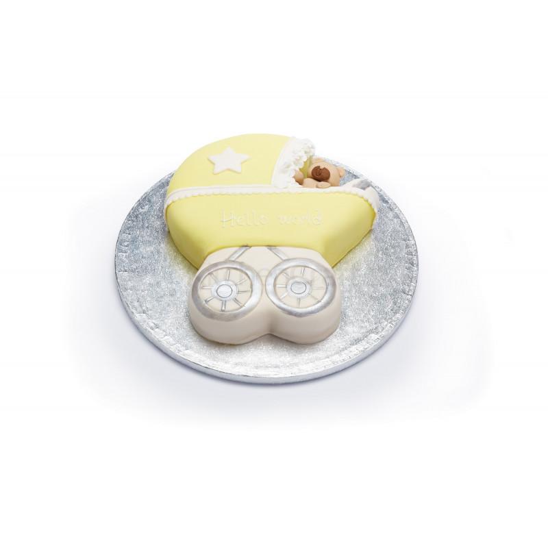 Molde de bizcocho Carrito bebe Kitchen Craft