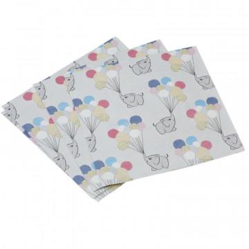 Servilleta de papel Elefante Bebe