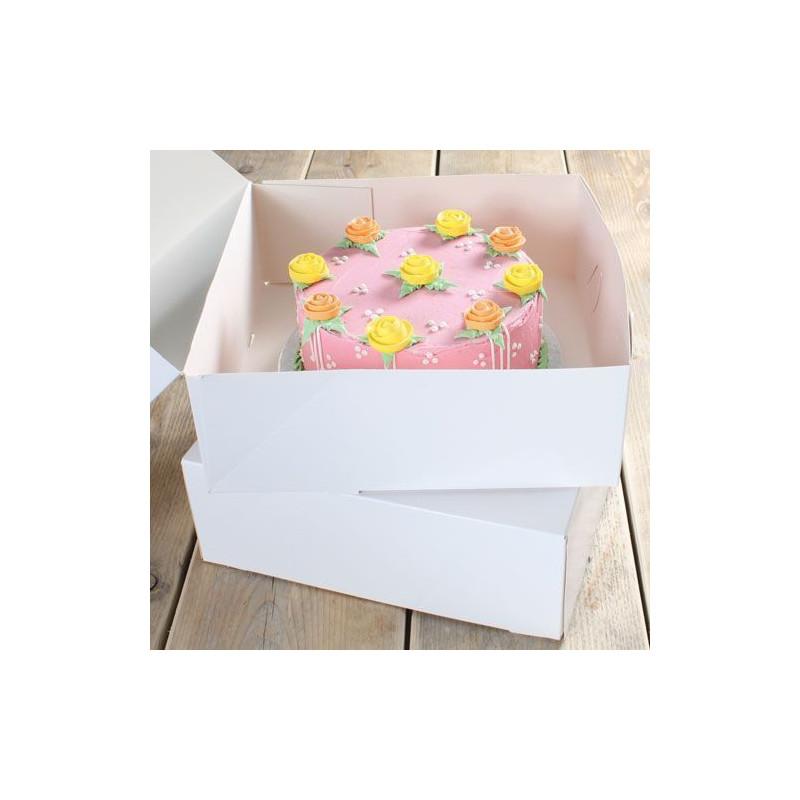 Pack 2 cajas para tarta 32 x 32 x 11.5 Funcakes