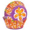 Cápsulas cupcakes Flor Hibiscos Wilton