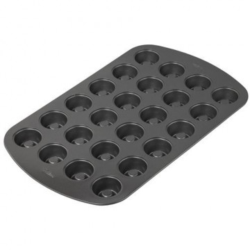 Molde 24 cavidades Mini pastelitos Wilton