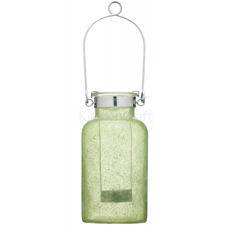 Jarra Candelabro Cristal Verde Kitchen Craft