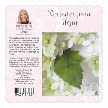 Cortante pack 2 cortantes Hoja Patricia Arribalzaga