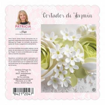 Cortante flor jazmín Patricia Arribalzaga
