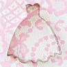 Cortante de galleta vestido princesa/novia Patricia Arribalzaga