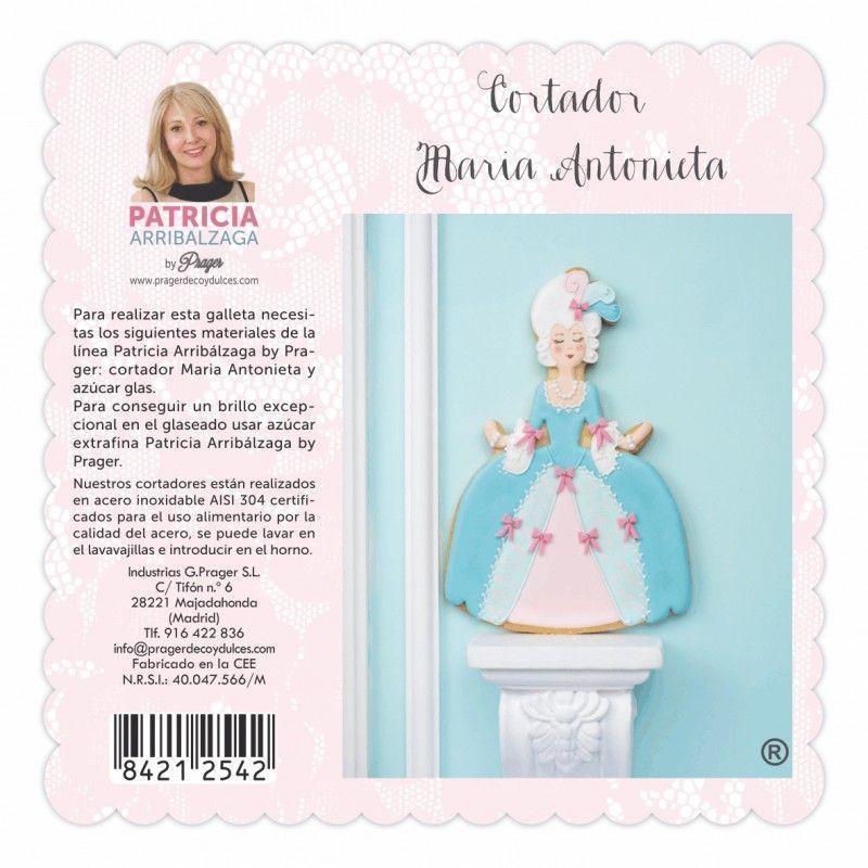 Cortante galleta María Antonieta Patricia Arribalzaga