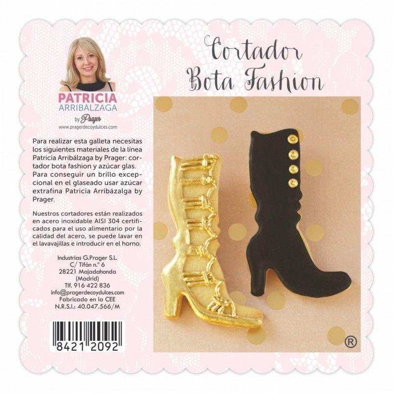Cortante de galleta Bota Fashion Patricia Arribalzaga