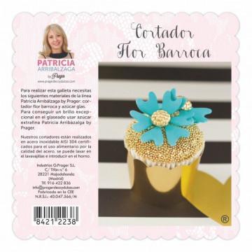 Cortante Flor Barroca Patricia Arribalzaga