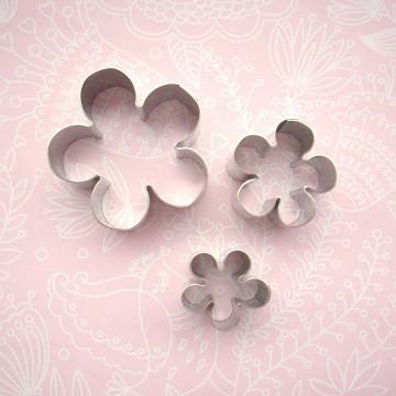 Cortante pack 3 cortantes flor blossom Patricia Arribalzaga