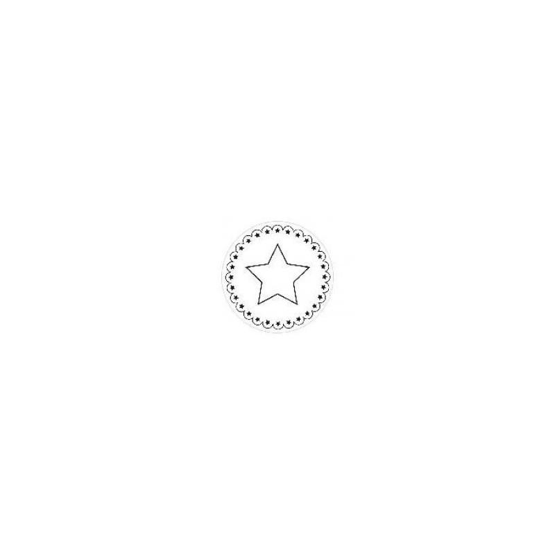 Sello silicona estampación galletas Estrella Artemio