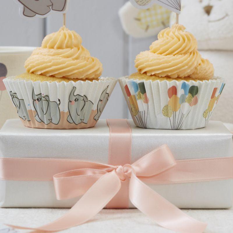 Cápsulas cupcakes Bebe Elefante