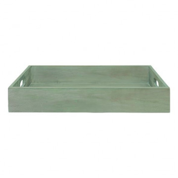 Caja decorativa madera verde Green Gate
