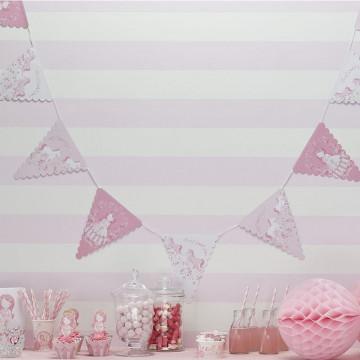 Guirnalda banderola Fiesta Princesa