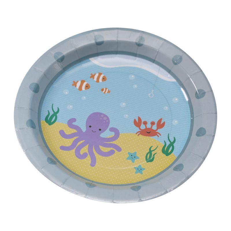 Platos de fiesta Bajo del Mar