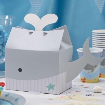Pack 5 cajas regalo Ballena Bajo del mar
