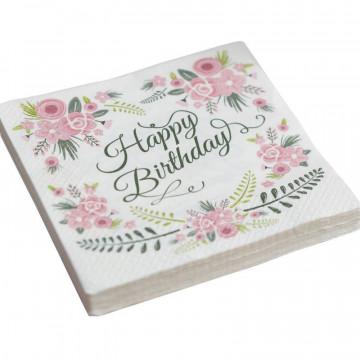 Servilletas de papel Vintage Floral