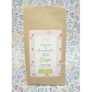 Chocolate con leche 34% cacao Premium 200gr