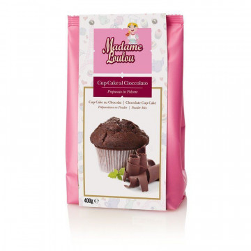 Preparado para cupcakes de chocolate 400gr Madame Loulou