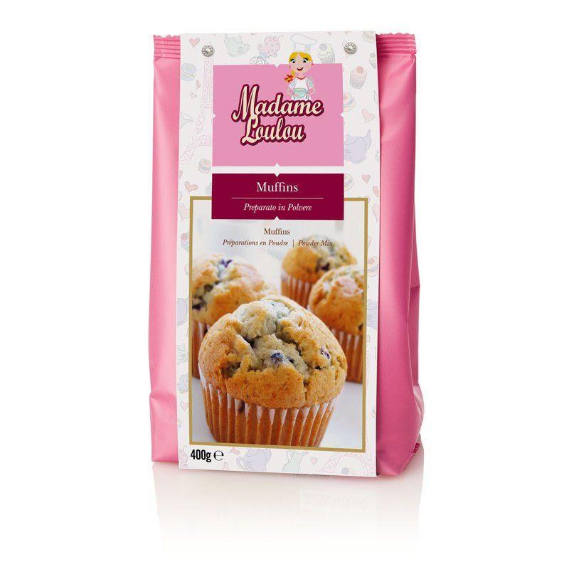 Preparado para muffins 400gr Madame Loulou